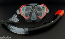NEW WILCOMP Snorkelling/Diving Silicone Set WIL-DS-9           *100% dry snorkel