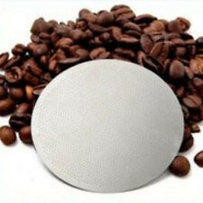 Practical Stainless Steel Coffee Tea Filter Disk Mesh For AeroPress Tool 6.1cm