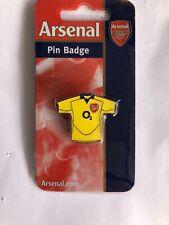 Arsenal Away Shirt Retro Pin Badge