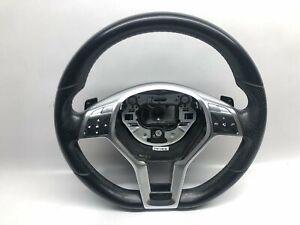 MERCEDES-BENZ E W212 Flat Bottom Paddle Shift Steering Wheel A1724604203