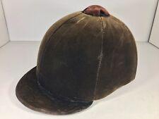 Lexington KY Hunt Cap Horse Riding Helmet Olive Green 6-5/8 Equestrian LS410