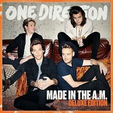 One Direction Made in The A.m. Deluxe Edition CD Release November 2015