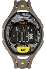 Timex TW5M01300, 50-Lap Ironman Brown Resin Watch, Indiglo, TW5M013009J