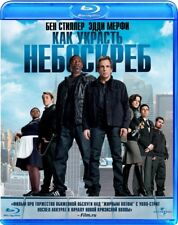 Tower Heist (Blu-ray, 2012) Eng, Rus, Pol, checo, húngaro, portugués, español, tailandés