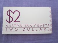 Australia 1988 Australian Crafts Booklet with stamps LOW START L@@K
