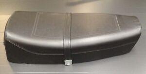 Seat / saddle dual black for Vespa PX