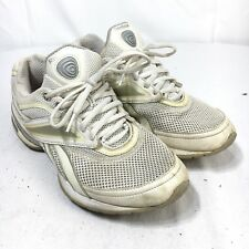 Reebok EasyTone Smooth Fit Women 8 White Silver Toning Running Workout Shoes