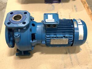 LOWARA HE 40-125/22/C Kreiselpumpe Edelstahlpumpe Wasserpumpe