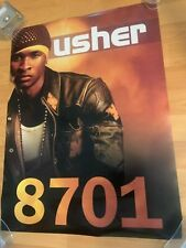 USHER 8701 Promo 18x24 Poster Hip Hop Rap R&B Jermaine Dupri Pharrell P. Diddy