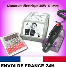 Kit Ponceuse pro Ongles Electrique Lime Ongles Manucure SINA MERCEDES