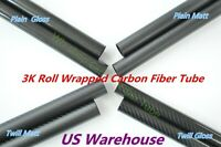 "Carbon Fiber Tube 8/"" rough length"