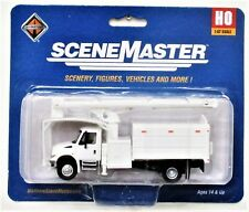 HO Scale Walthers SceneMaster 949-11745 White International 4300 w/Tree Trimmer