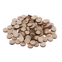 100x Unvollendete mini Holz Deko Holzscheiben Konfetti Streudeko Verzierung für