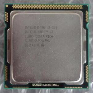 Intel SLBUD Core i3-550 3.20GHz 4M 1st Gen Socket 1156 Dual Core CPU / Processor