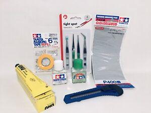 Tamiya:Masking Tape 6mm /Tamiya Cement /EXTRA THIN Cement & More-
