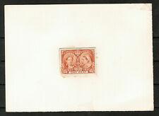 Canada Stamp #51P - Queen Victoria Jubilee (1897) 1¢ Plate Proof #5600