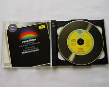 KARAJAN / MAHLER Symphony No.6-Ruckert lieder-Kinder.. GERMANY 2CD DGG 457 716-2