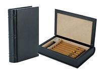 Elegant 5+ CT Count Cigar Humidor Humidifier Wooden Case Box Hygrometer Travel