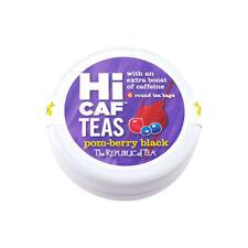 The Republic Of Tea Hicaf Pom-Berry Black Tea, 6 Tea Bag Traveler Tin