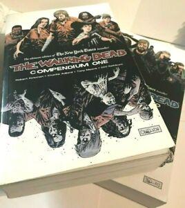 The Walking Dead Compendium #1 & #2 Zombies Horror Lot (2 Books)