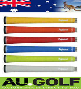 Professional coloured golf grips - 6 Colours - Genuine - $7.95 postage any qty