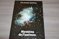 Les grands mystères / Mystères de l'univers / Ref F4