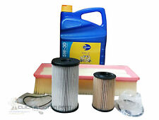 SKODA OCTAVIA 1.6 TDI 09-13 OIL AIR FUEL DIESEL FILTER 5L ENGINE OIL SERVICE KIT
