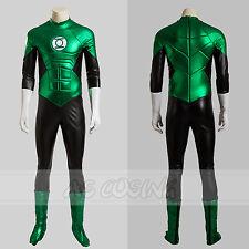 Green Lantern Hal Jordan Cosplay Costume Halloween Outfit