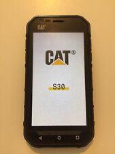 """CAT S30 SMARTPHONE CATERPILLAR 4,5"""" 4GB DUAL SIM NERO 8MP 4G AUDIO RIPARARE !!"""