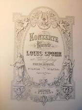 Louis SPOHR Klarinetten Konzert No.2 Opus 57 Clarinet