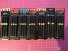 SPECTRUM NOIR SPARKLE PENS NEW IN PACKETS JOB LOT 21 pens -7 PACKS