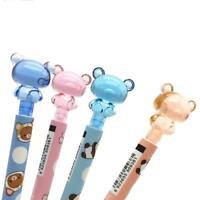 4 pcs/lot 0.7mm Cute Kawaii Cartoon Crystal Bear Mechanical Pencils I5H1