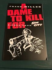A Dame To Kill For: A Tale From Sin City Frank Miller 1994 l