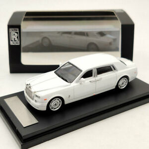 1:64 Rolls-Royce Phantom VII White Diecast Models Limited Edition Collection