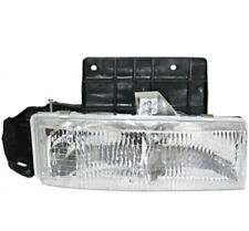 Fits 95-05 Chevy Astro; GMC Safari Right Pass Headlamp Assembly w/Mounting Panel