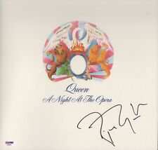 ROGER TAYLOR SIGNED QUEEN A NIGHT AT THE OPERA RECORD ALBUM PSA COA AD48311