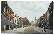 High St, Walsall PPC  View from Ye Olde Woolpack, 1917 PMK to Kilmaurs