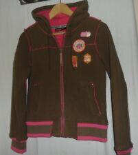 Ladies Girls Protest boardwear jacket,hoodie brown/pink size10 £10 free p+p