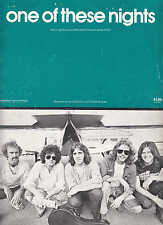One Of These Nights - The Eagles - 1975 US Sheet Music