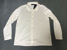 Brand New Women's Marks and Spencer Ivory Button Up Top Size 14