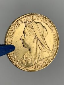22ct gold Full sovereign coin Victoria 1899 Bullion Investment NO RESERVE!!