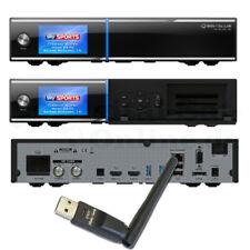 ► GigaBlue UHD Quad 4K 2xDVB-S2 FBC Twin Tuner CI LAN PVR E2 + WLAN + 1TB HDD