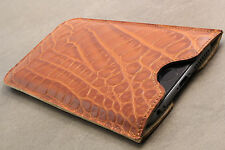 LG G2 Leather Pouch Skin Case Cell Phone Cover Bumper Protection Cover Brown