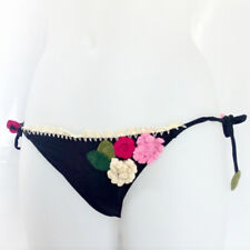 Miss bikini slip costume donna swimwear nero originale qualità top