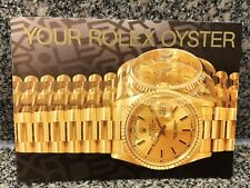 YOUR ROLEX OYSTER BOOKLET DATED 1995 Ref 579.52 Eng - 300 - 3.1995