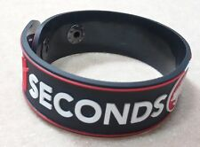 NEW 5 SOS SECONDS OF SUMMER RUBBER BRACELET WRISTBAND UNISEX SOUVENIRS DAY WB47