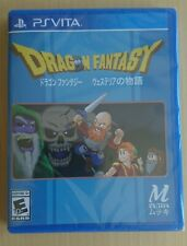 Dragon Fantasy for PlayStation Vita from Limited Run Games + Both Trading Cards