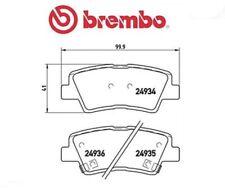 P30047 Kit pastiglie freno, Freno a disco (MARCA-BREMBO)