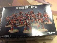 40K Warhammer Khorne Berzerkers Box Sealed