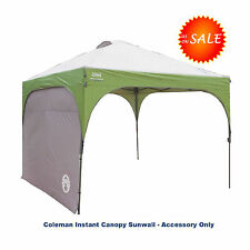 Wall Sunshade For Coleman Instant Canopy 10 X 10 Camping Tent Heavy-Duty Fabric